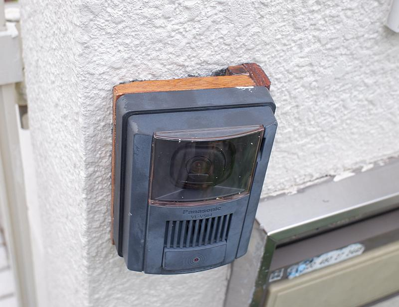 玄関TV付インターホーン取り付け